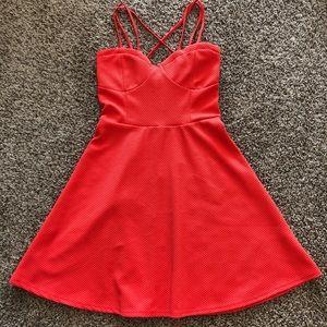 Babydoll Strep Dress